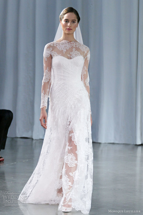monique-lhuillier-fall-2013-kayla-long-sleeve-gown