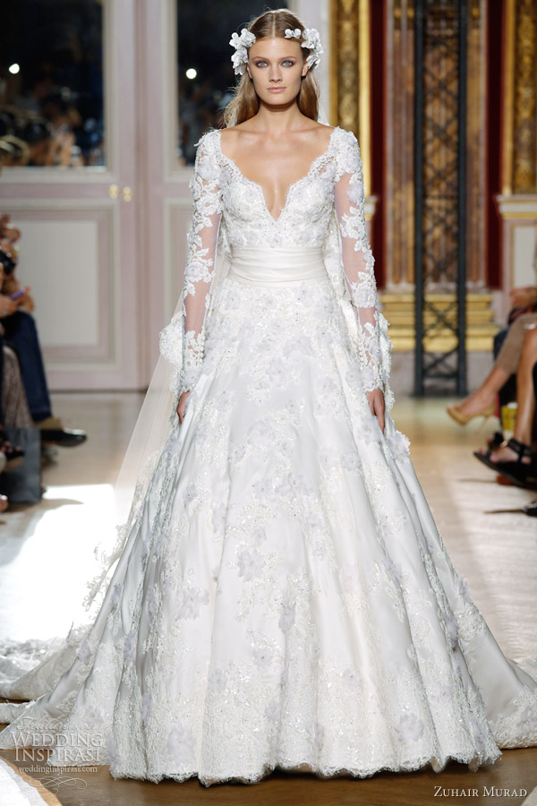zuhair-murad-fall-2012-couture-wedding-dress-lace-long-sleeves