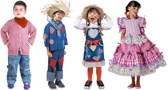 9196a8b97 Todo mundo gosta de festa junina e com as crianças não poderia ser  diferente