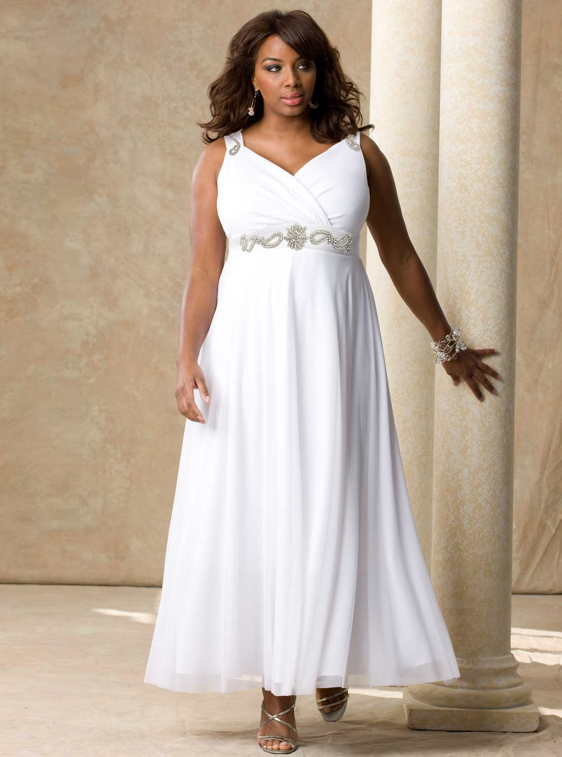black_women_plus_size_wedding_dresses