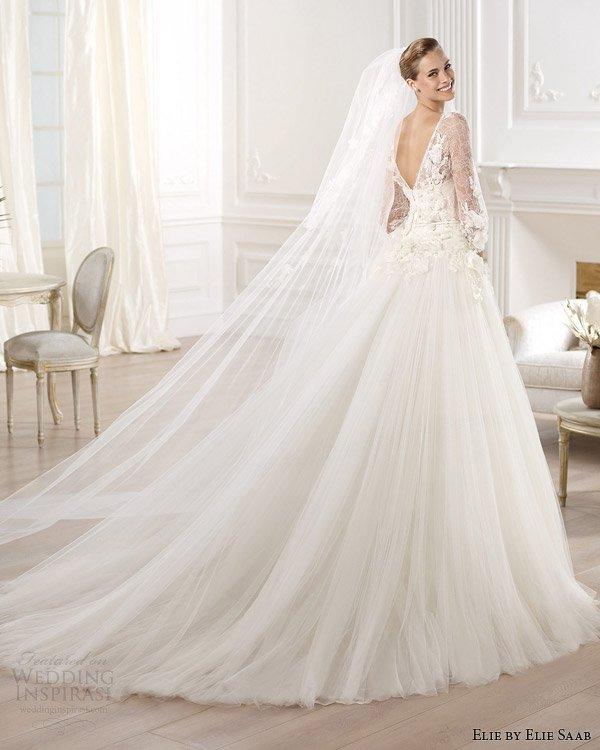 elie-by-elie-saab-2014-bridal-lacerta-wedding-dress-with-sleeves-v-back-train