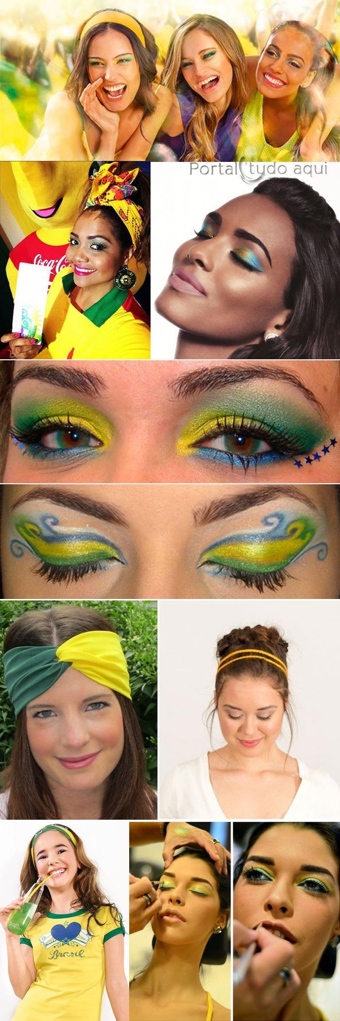 looks-para-torcer-pelo-brasil-copa-2014-maquiagem