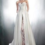 gemy-maalouf-bridal-winter-2015-strapless-wedding-dress-style-4145-illusion-sheer-lace-pant-3972
