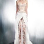 gemy-maalouf-wedding-dresses-2015-strapless-lace-top-pants-over-skirt-style-4006-4179-3965