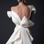 krikor-jabotian-wedding-dresses-fall-winter-2014-2015-amal-couture-collection-off-shoulder-gown-oversized-bow-back-view-close-up