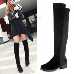 2014-new-fashion-Womens-Black-Over-The-Knee-font-b-Thigh-b-font-High-Suede-Splice