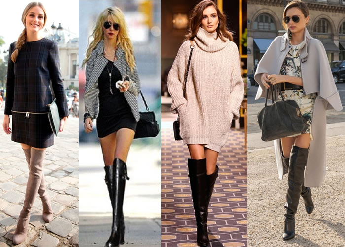 Botas Over The Knee ou Over Boots - famosas-que-usam