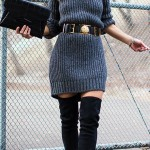 Grey-Chunky-Knit-Sweater-Dress-with-Over-The-Knee-Boots