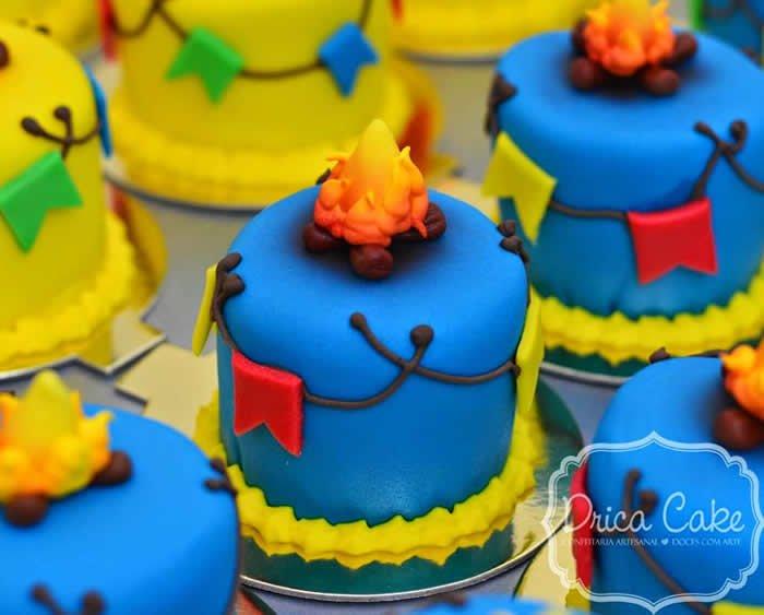 festa-junina-Bolos decorados para festa junina-dricamoraescakedesigner.blogspot