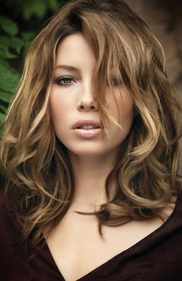 Medium Highlights Hairstyles With Bangs 2016   Best Hairstyles ...