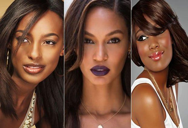 ¿Cómo elegir el color de cabello de acuerdo a su tono de piel, piel negro
