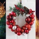 Decorações de Natal simples e baratinhas que você mesma pode fazer