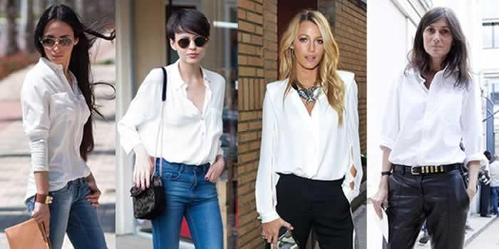 camisa-branca-as peças essenciais que toda mulher precisa ter no guarda-roupas